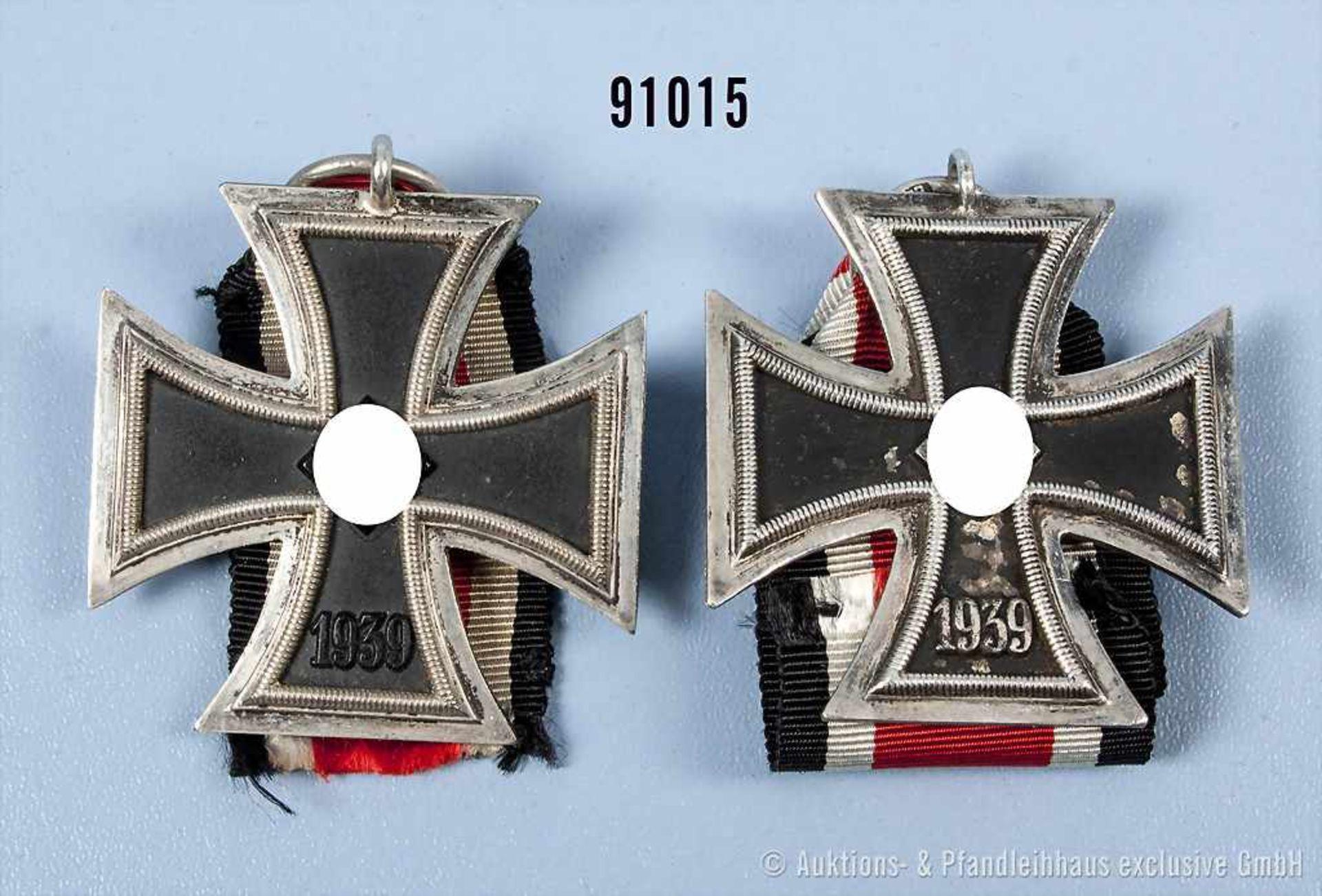 Konv. 2 EK 2 1939, guter Zustand, teilweise mit Altersspuren- - -19.00 % buyer's premium on the