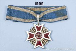 Orden der Krone von Rumänien, Kommandeurkreuz in der Größe eines Großkreuzes (Order of the Crown