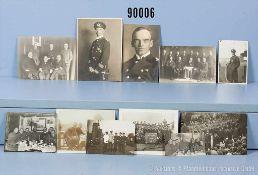 Konv. Privatfotos Kapitän Otto Schniewind aus der Zeit seiner militärischen Karriere vom 1.