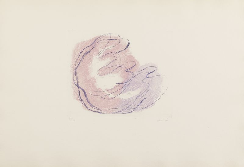 Lot 23 - Jean FAUTRIER (1898- 1964) - Sweet-Baby - Eau forte et aquatinte en couleurs sur [...]