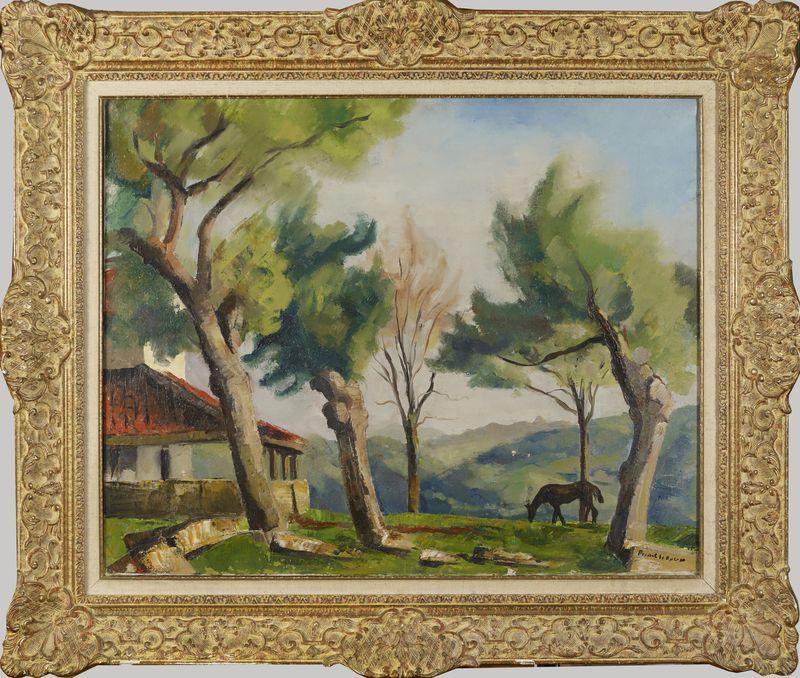 Lot 53 - Charles PICART LE DOUX (1881-1969) - Paysage - Huile sur toile signée en bas à [...]