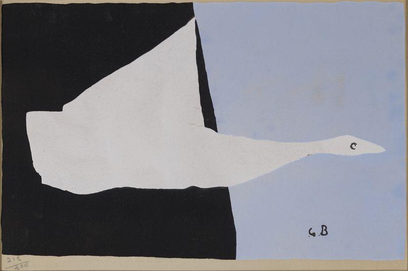 Lot 50 - Georges BRAQUE (1882-1963) - D'après - Le canard - Pochoir justifiée 215/300 - 30 [...]