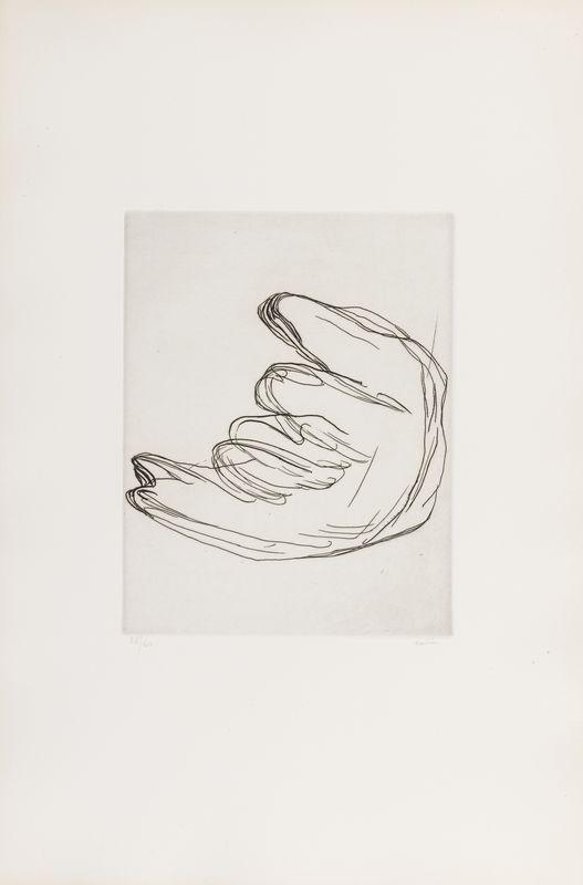 Lot 28 - Jean FAUTRIER (1898- 1964) - Femme douce - Eau forte sur Vélin d'Arche - Signée en [...]