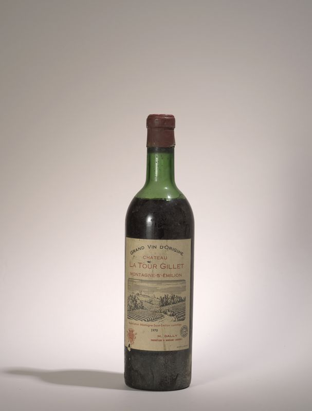 Lot 76 - 1 bouteille La Tour Gillet 1970, Montagne Saint Emilion - niveau légèrement bas - [...]