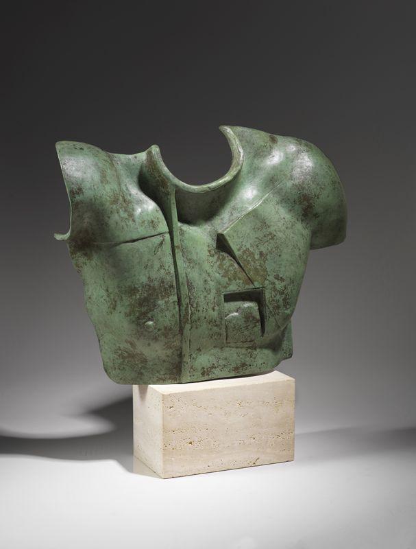 Lot 44 - Igor MITORAJ (1944-2014) - Helios - Sculpture en bronze - 31 x 30 cm - - Igor [...]