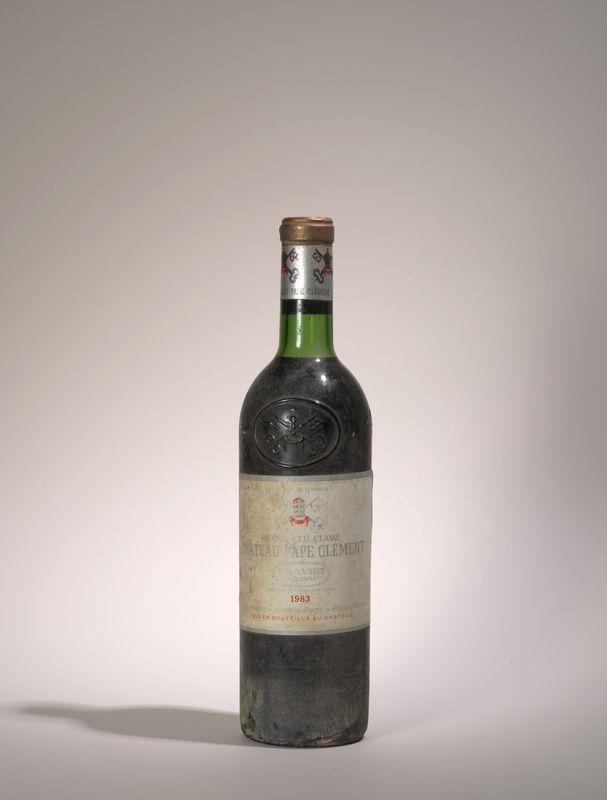 Lot 73 - 1 bouteille Château Pape Clément 1983, Graves - - 1 bottle Château Pape Clément [...]