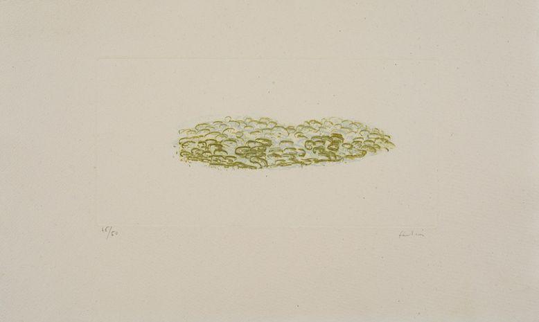 Lot 3 - Jean FAUTRIER (1898-1964) - Green Trees - Eau forte en couleurs sur Vélin d'Auvergne [...]