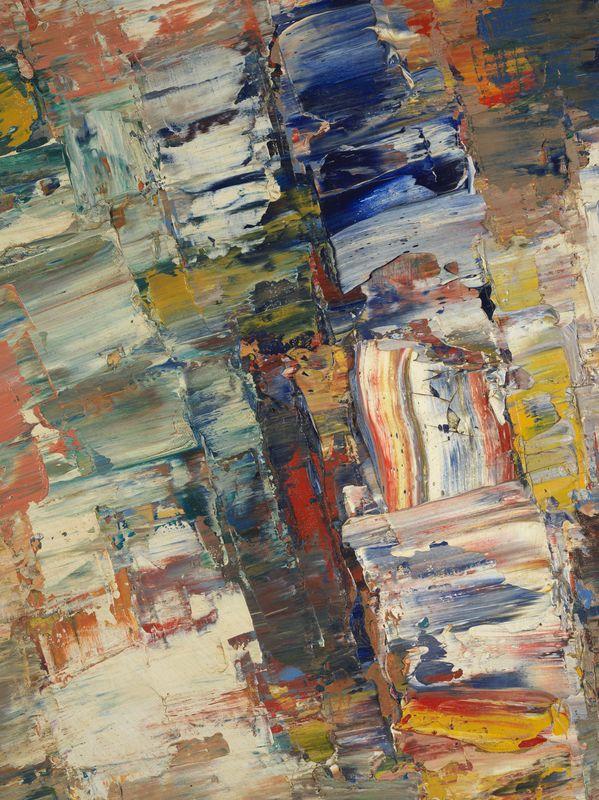 Lot 36 - Jacques GERMAIN (1915- 2001) - Composition - Huile sur toile signée - 130 x 97 cm - [...]