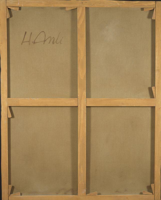Lot 37 - Hakki ANLI (1906-1991) - Composition - Huile sur toile signée en bas à droite et [...]