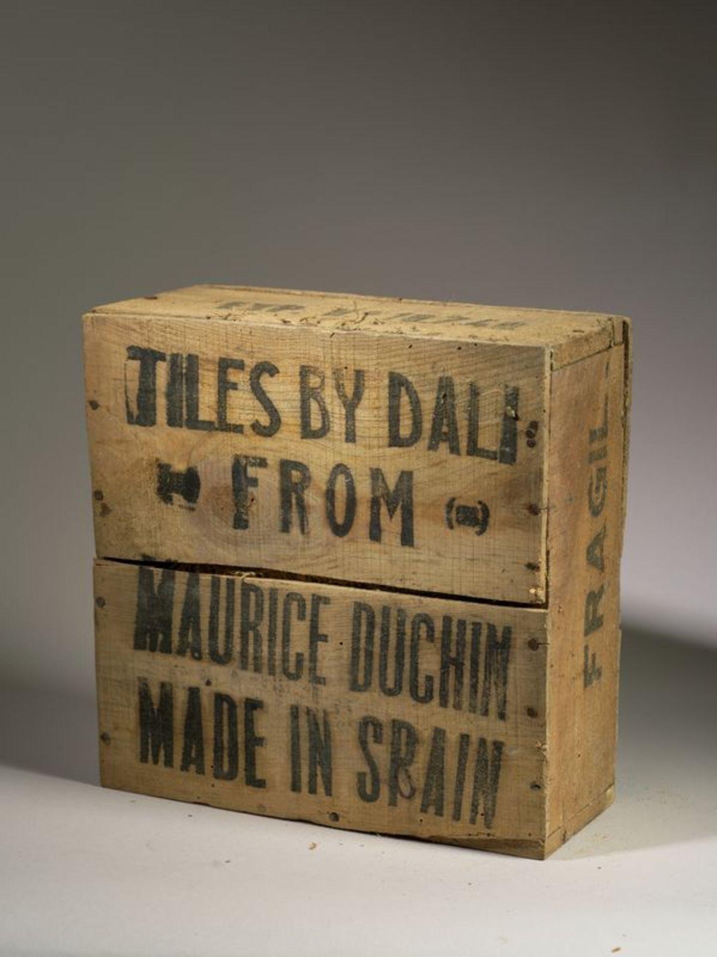 Los 32 - Salvador DALI (1904-1989), d'après - Ensemble de 6 carreaux de céramique, 1954 [...]