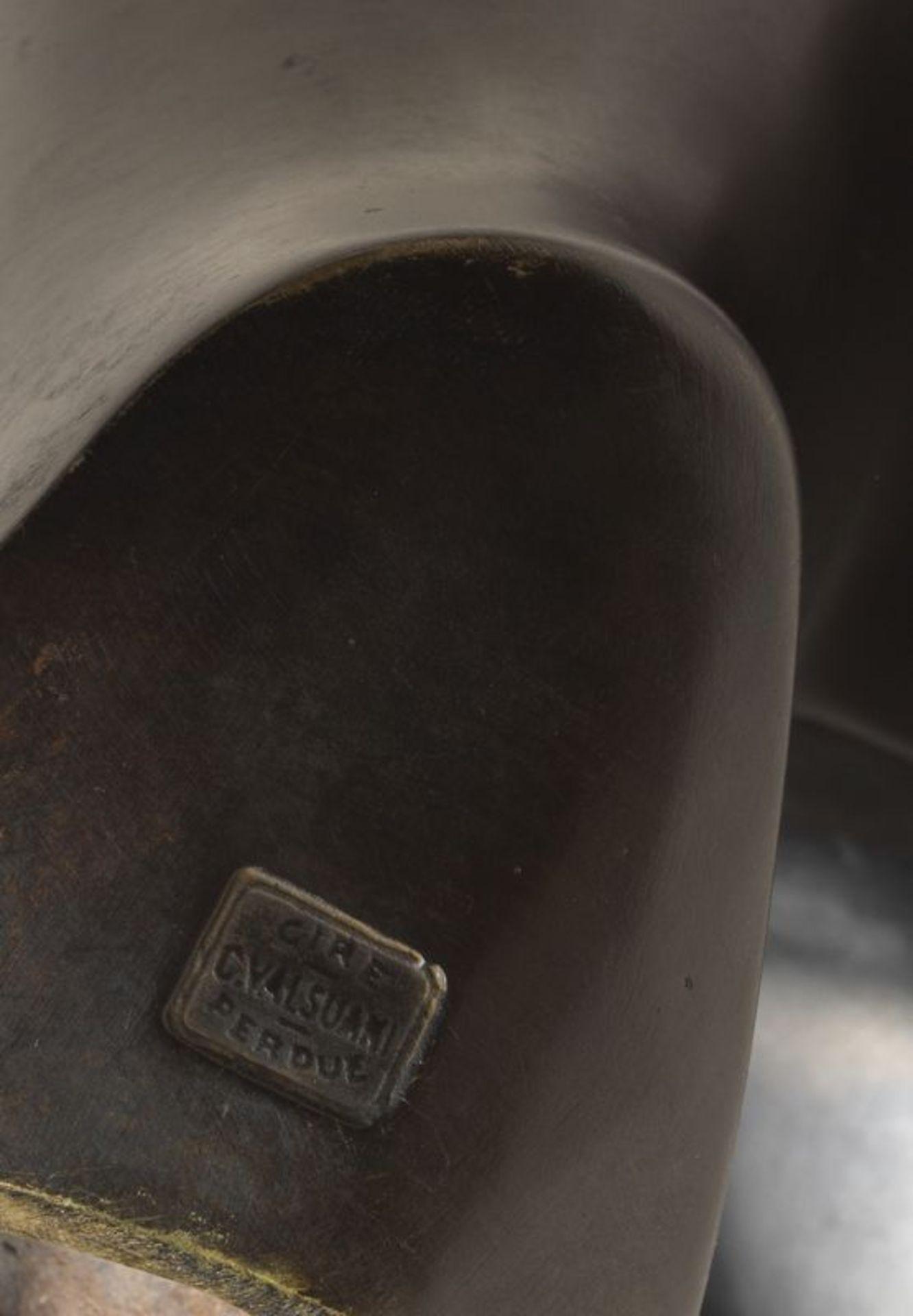Los 41 - François POMPON (1855-1933) -Ours blanc - Bronze à patine noire nuancée de brun [...]