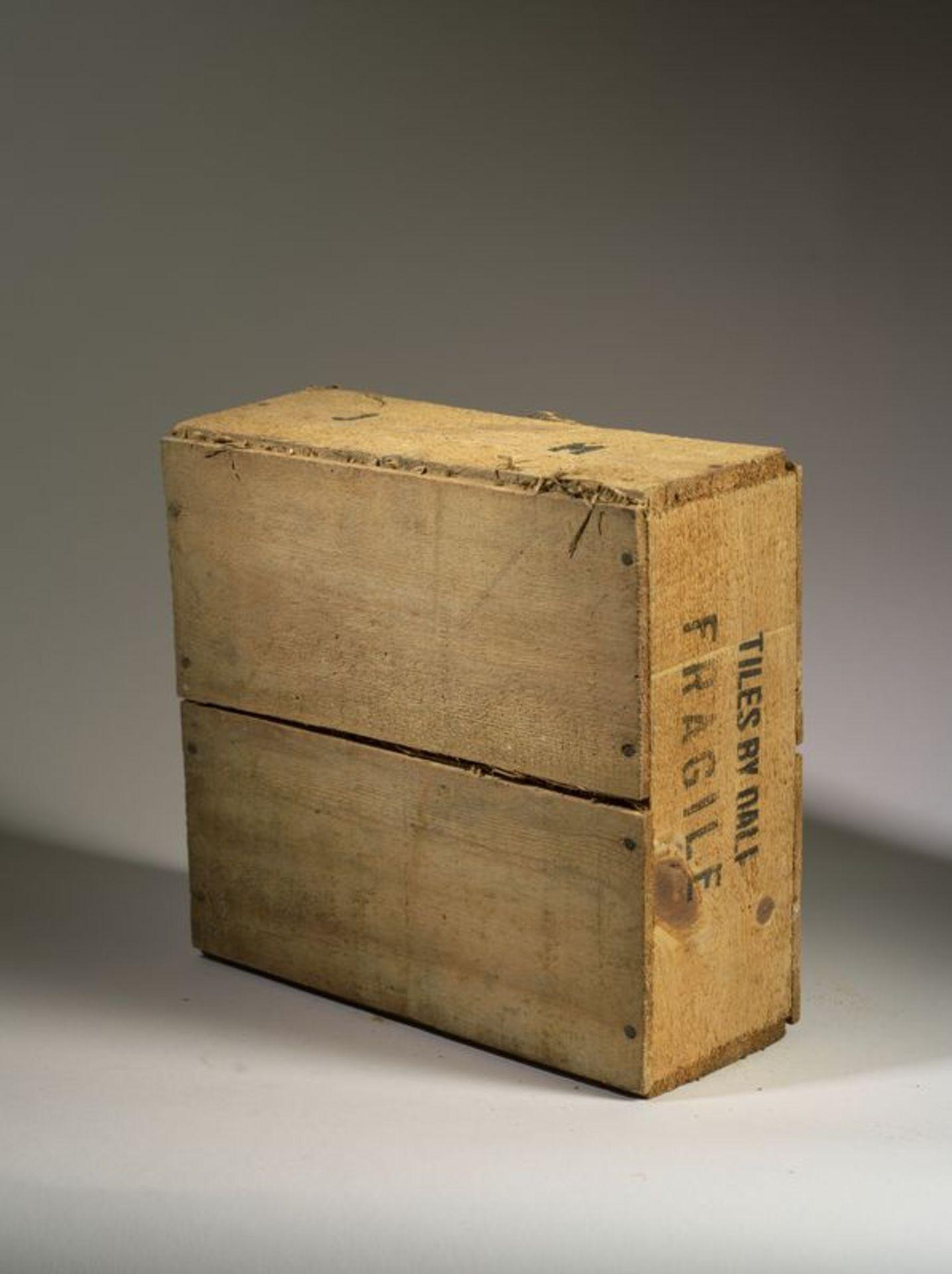 Salvador DALI (1904-1989), d'après - Ensemble de 6 carreaux de céramique, 1954 [...]