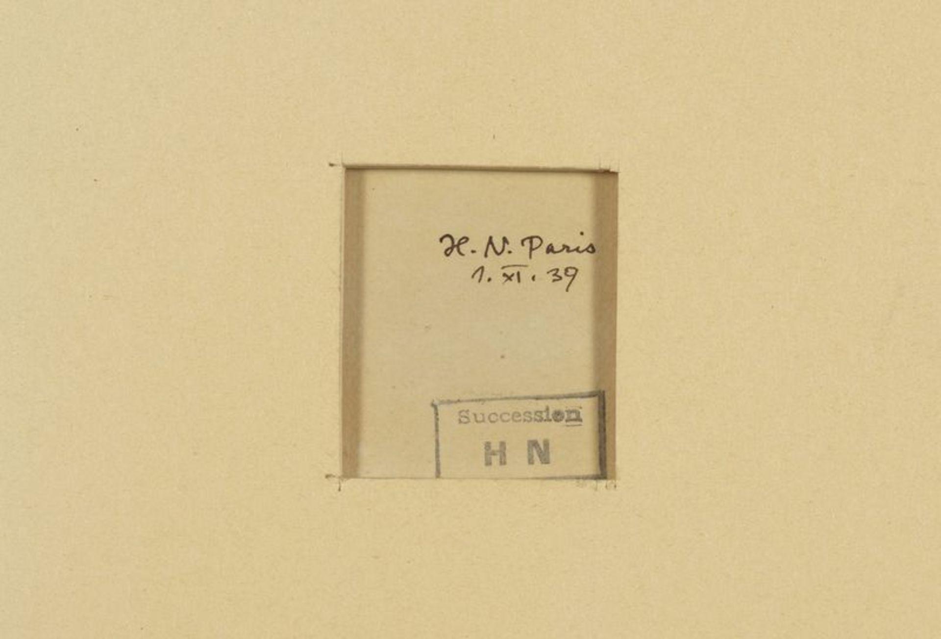 Los 45 - Henri NOUVEAU (1901-1959) - Jonques - Huile sur papier monogrammée et datée 1939 en [...]