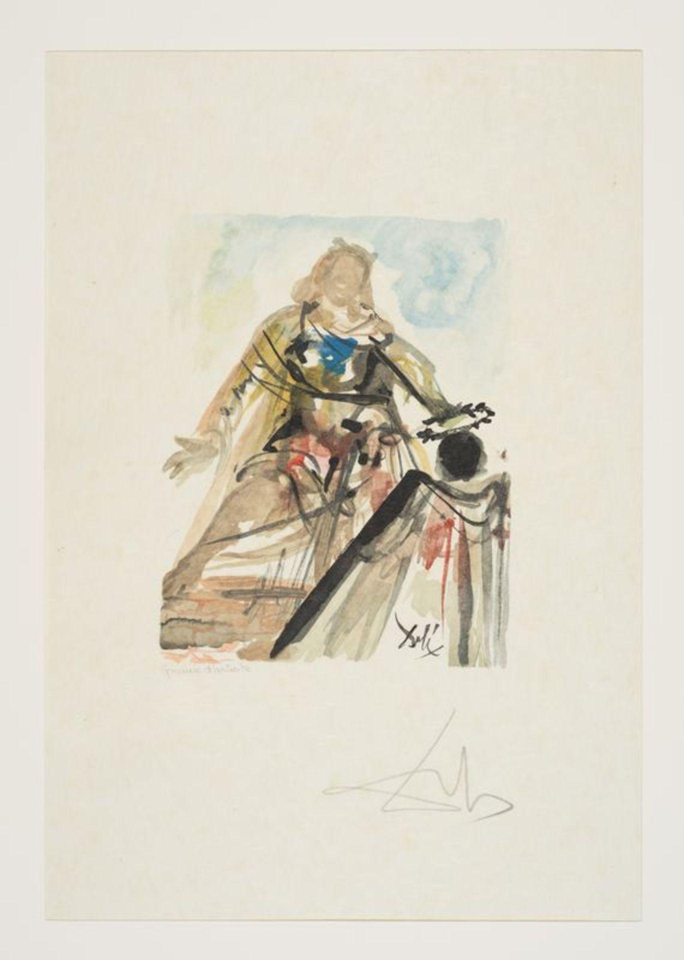Los 26 - Salvador DALI (1904-1989) Antica - Ensemble de treize lithographies dans un coffret [...]