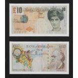 BANKSY (1974) - Difaced tanner £10, 2004- Offset lithographie sur papier 7,6 x 14,4 [...]