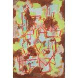 Henri NOUVEAU (1901-1959) - Version - Huile sur papier monogrammée, située Paris et [...]