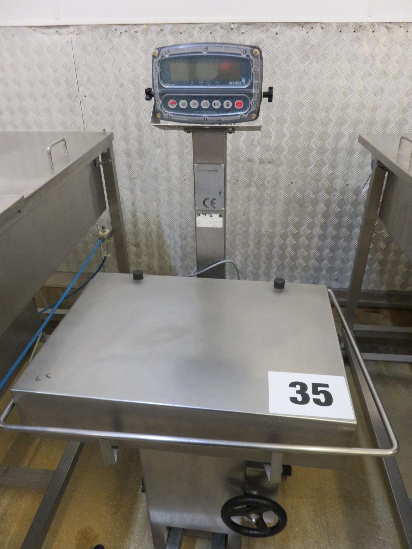 Lot 35 - Stevens Scale model 190. Lift out £20