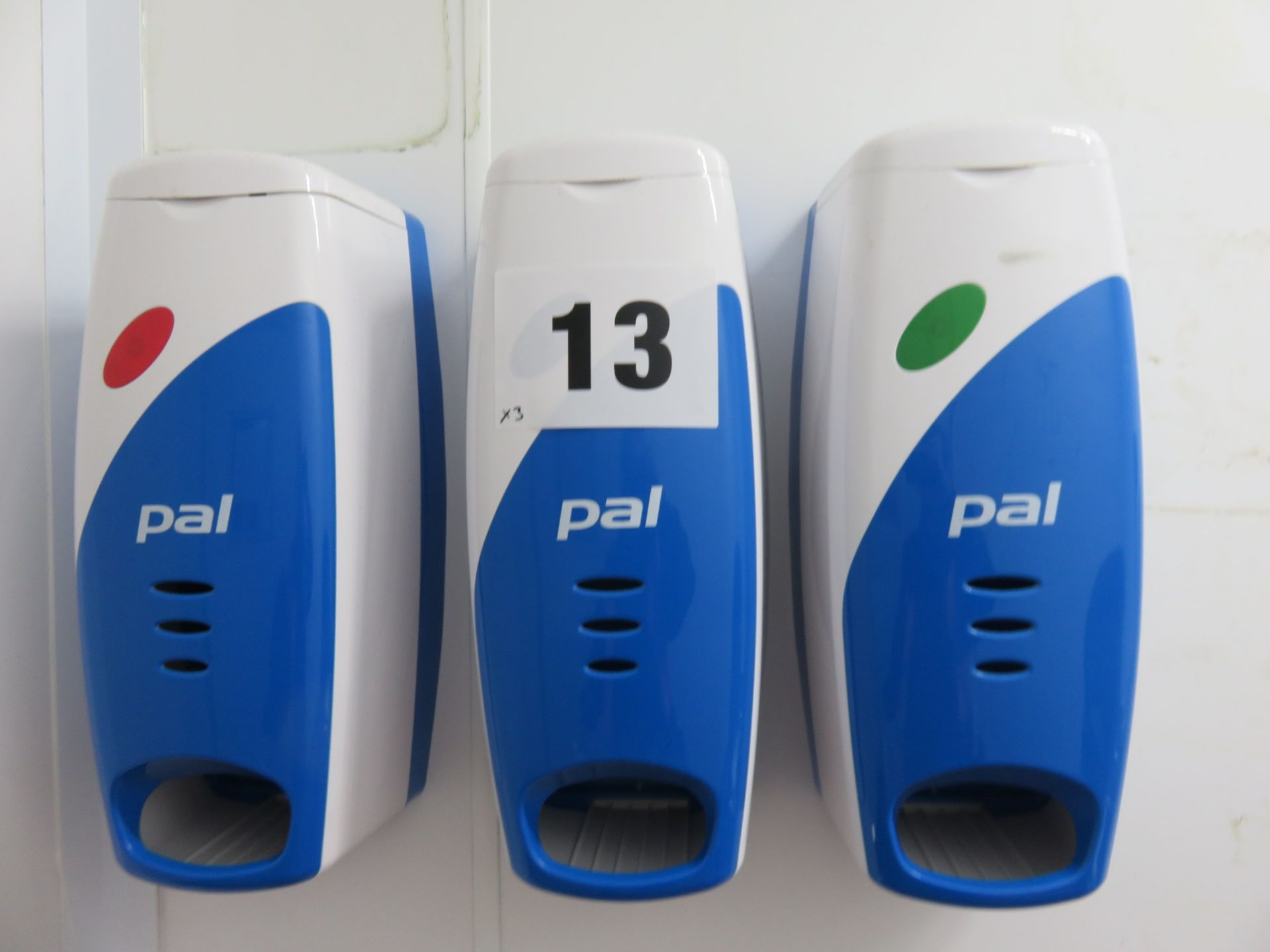 Lot 13 - 3 x Dispensers for hair nets etc., Wall Mounted. Lift out £10