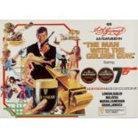 Lot 40 - Fleming (Ian).- , Guiness James Bond Man With the Golden Gun promotional poster, 1974.