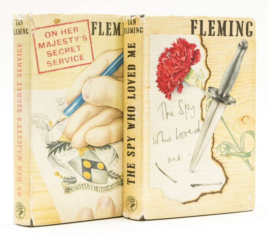 Lot 34 - Fleming (Ian) The Spy Who Loved Me, 1962; and another.