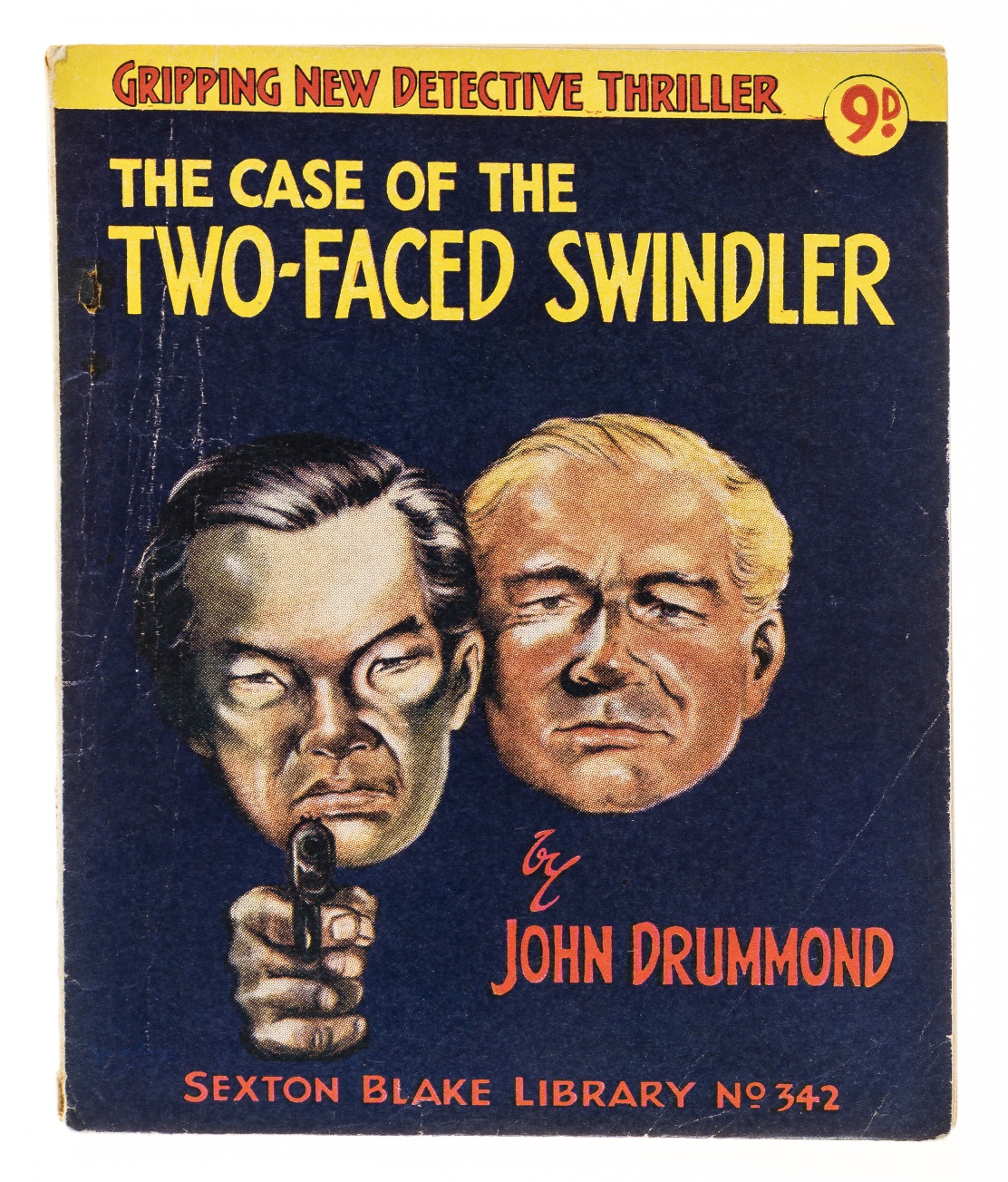 Lot 13 - Christie (Agatha).- Drummond (John) The Case of the Two-Faced Swindler, signed presentation …