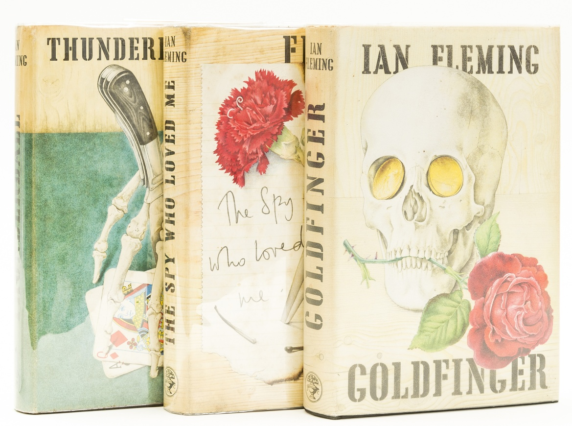 Lot 32 - Fleming (Ian) Thunderball, first edition, 1961; and 2 others (3)