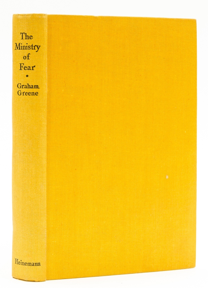 Lot 50 - Greene (Graham) The Ministry of Fear: An Entertainment, 1943.