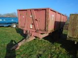 Lot 46 - Triffitt 12t dump trailer 2001
