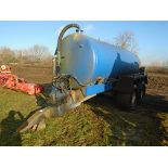Lot 41 - Twin axle slurry tanker