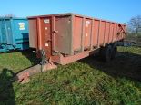 Lot 48 - Triffitt 12t root trailer 1992