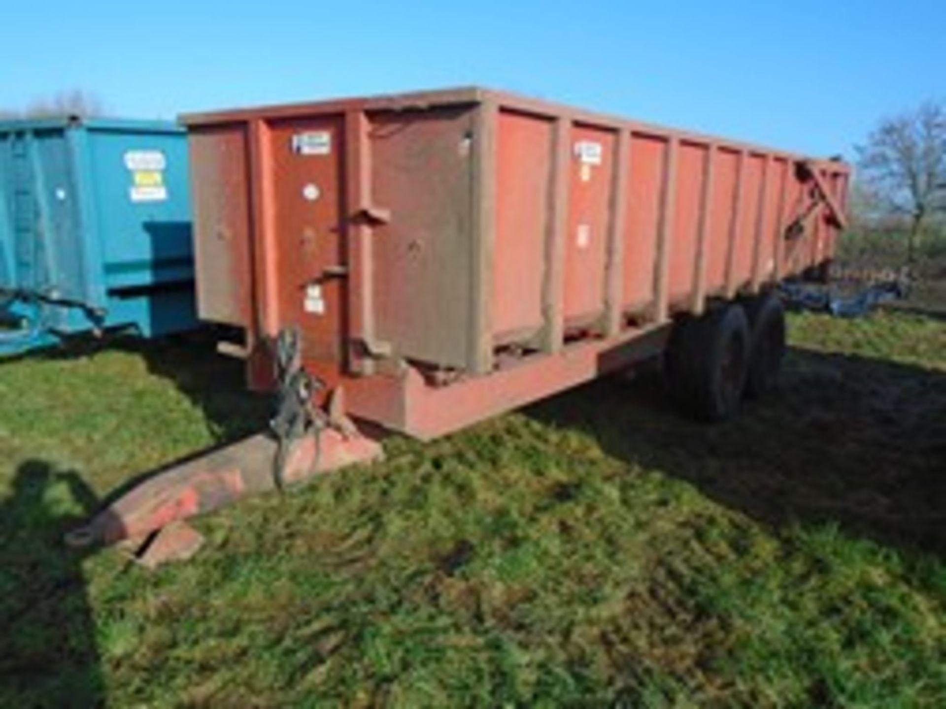 Lot 48 - Triffitt 12t root trailer 1992
