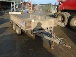 Lot 23 - Ifor Williams trailer with vehicle ramps
