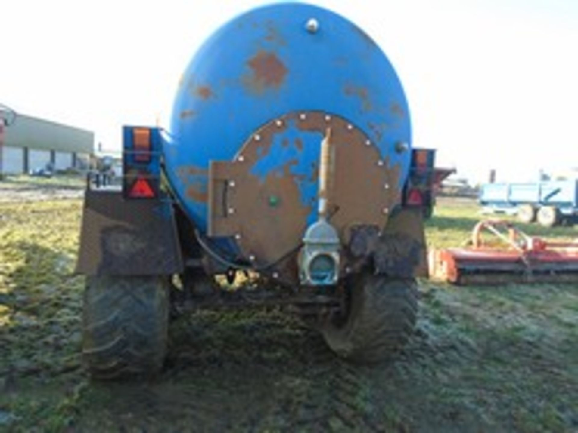 Lot 41 - Twin axle slurry tanker