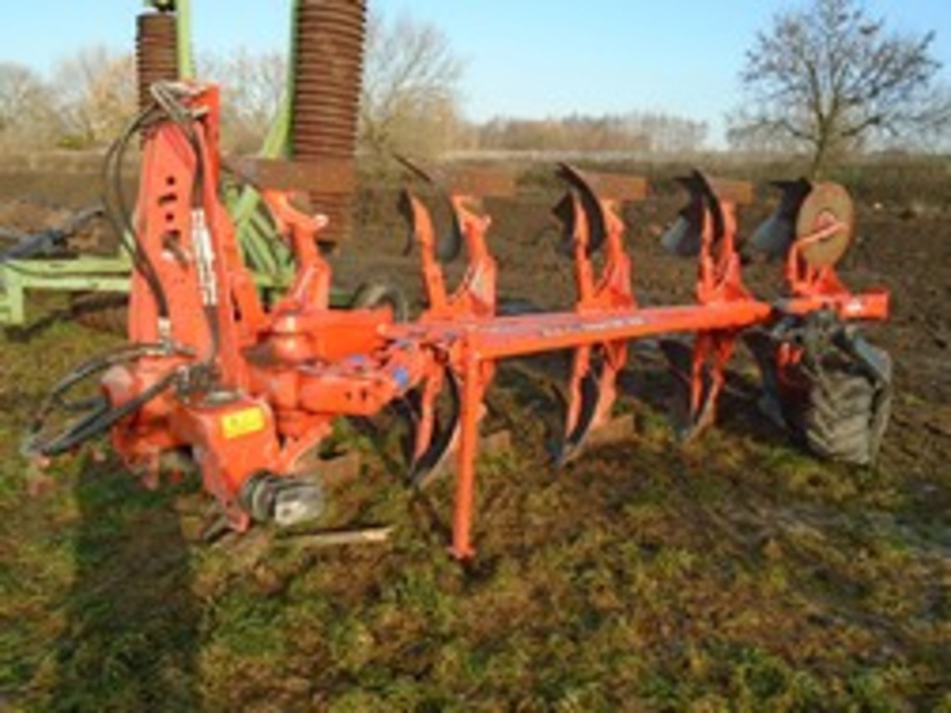 Lot 35 - Kuhn Multi-Master 123 5f plough 2017, little use