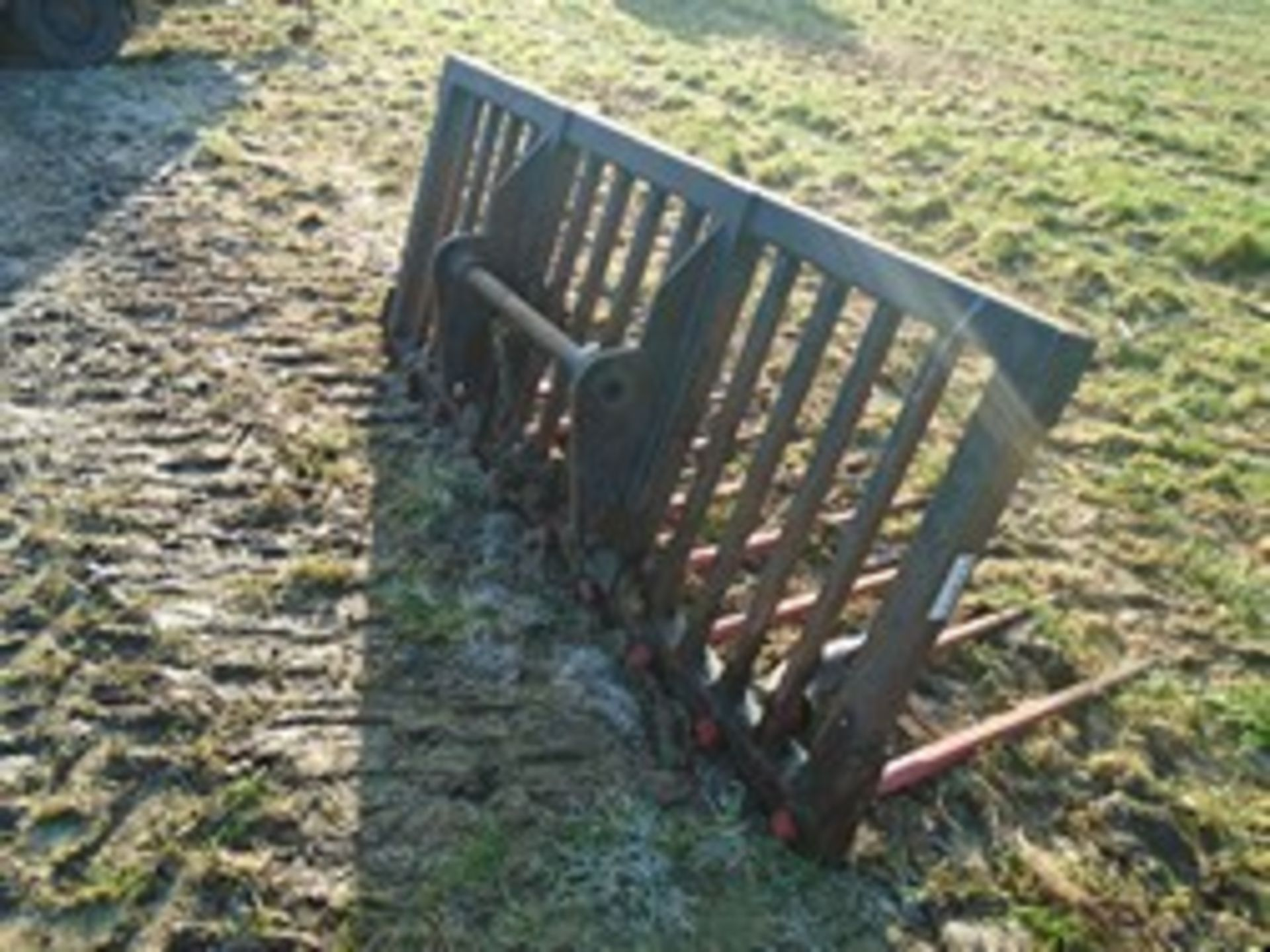Lot 22 - Slewtic muck fork on Manitou brackets