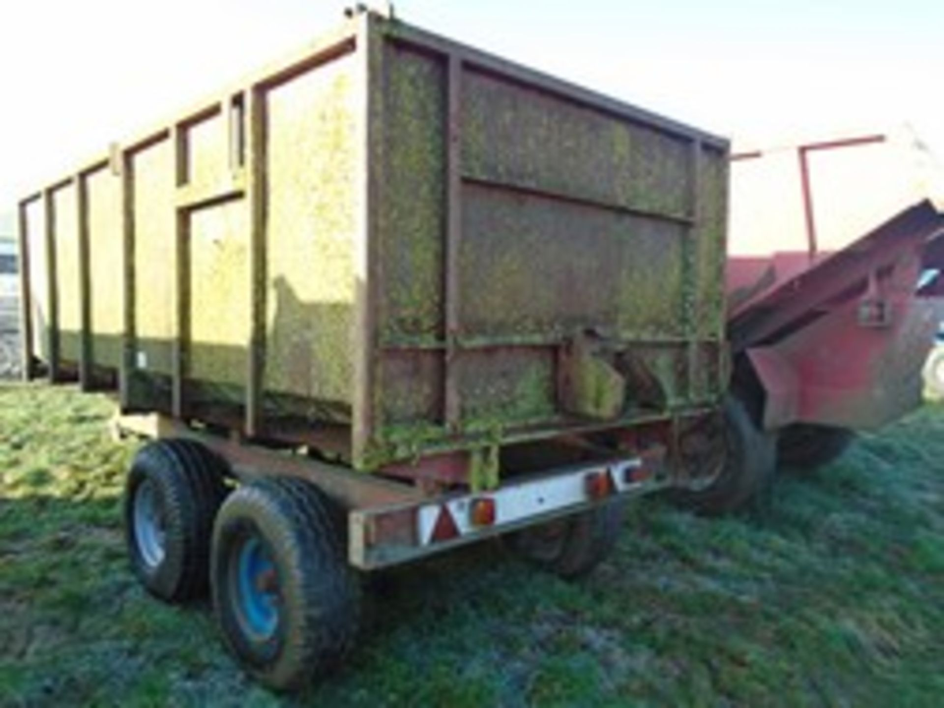 Lot 45 - Foster twin axle trailer