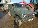 Lot 62 - Land Rover Defender 90 YY60 MDX 94,423 miles, Diesel, 11 months MOT