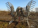 Lot 43 - Slurry Kat 8m dribble bar with Vogelsang Mascerator & Krohne metering unit