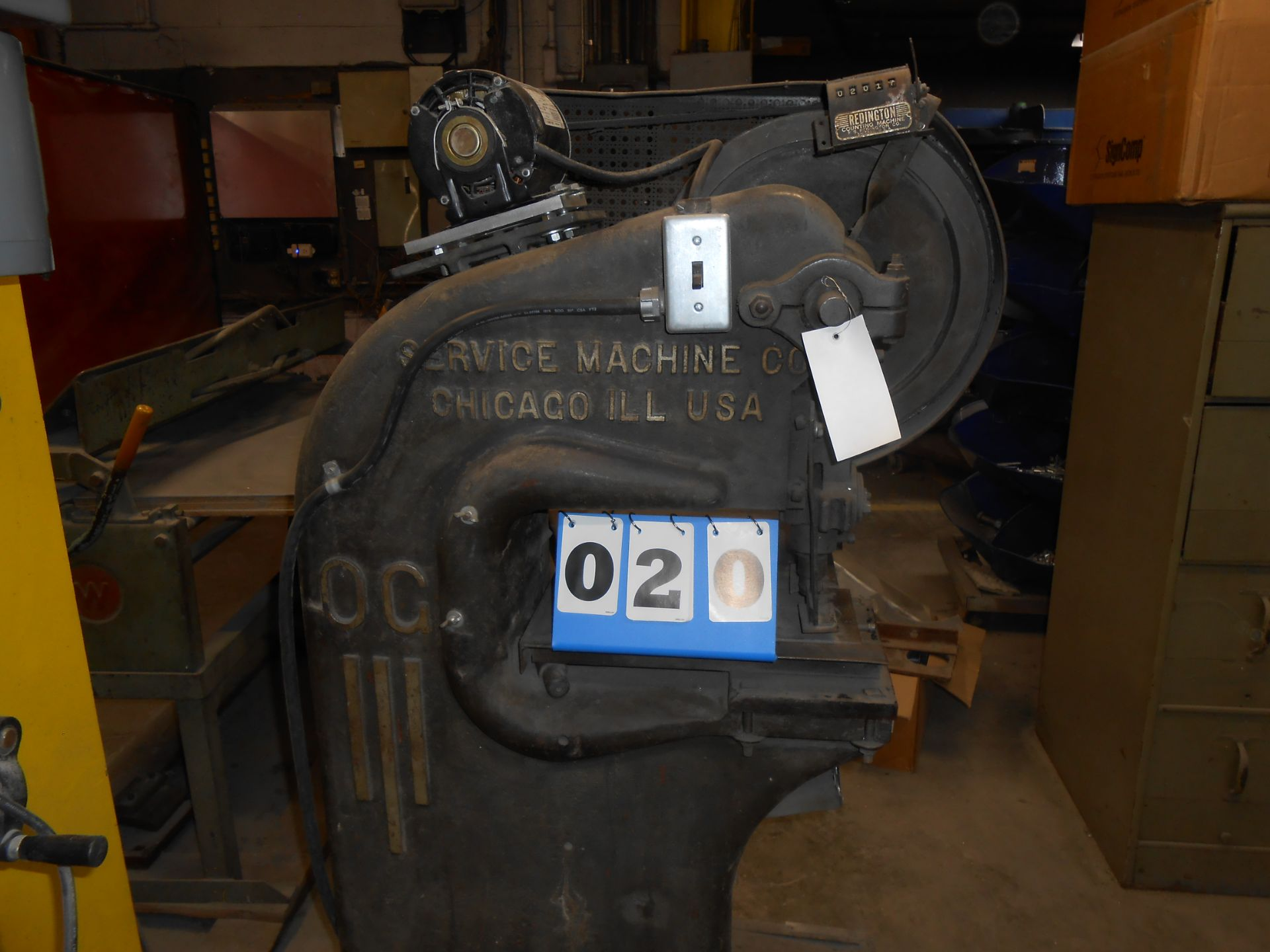 Lot 20 - Roussell OG Stamping Press