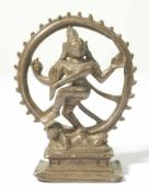Shiva Nataraja, India, Bronze, probably 17th c., 11 cm high, Provenance: Private