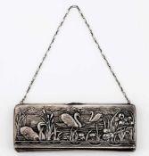 Abendtasche Russland, Silber (533g incl. Samt), Moskau 1908-1917 Meister: Alexej Zavarkin2 x 23 x
