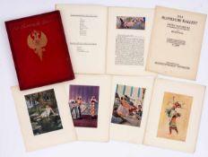 Das Russische Ballett Buch mit Illustrationen von René Bull, Limitierte und nummerierte Ausgabe