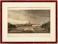 Dankgottesdienst der Allierten für die Besiegung Napoleons am 10. April 1814 zu Paris unter der
