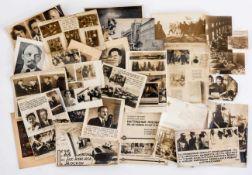 Propaganda-Photos und Drucke zur Geschichte der UdSSR 35 Stückviele davon 29 x 21 cm, Fotos manchmal