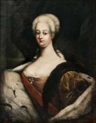 Maria Theresa of Austria (1717-1780), Austria / Hungary, oil on canvas, probably thecircle of the