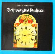Berthold Schaaf, SchwarzwalduhrenBerthold Schaaf, Schwarzwalduhren, 1. Auflage, 1983, 132 Seiten mit