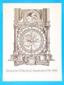 Klaus Maurice/Otto Mayr, Die Welt als Uhr - Deutsche Uhren und AutomatenKlaus Maurice/Otto Mayr, Die