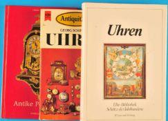 3 Kleine Bücher: Georg Schindler, Uhren, 19753 Kleine Bücher: Georg Schindler, Uhren, 1975,