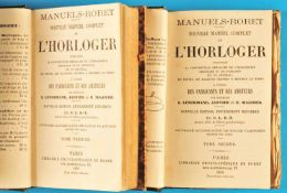 Lenormand / Janvier / Magnier, Encyclopédie-Roret. Horloger, Nouveau Manuel Complet de l'Horloger,