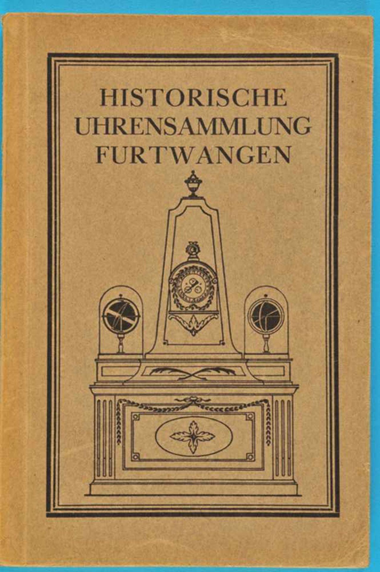 Los 42 - Adolf Kistner, Die historische Uhrensammlung Furtwangen, 1925Adolf Kistner, Die historische
